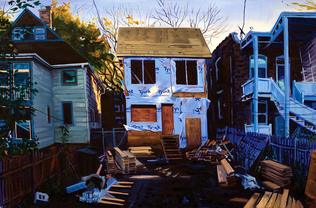 """Morning Light, 26x40"""", c.2017"""