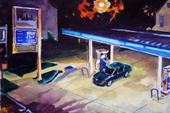 Mobil Station, Damen Ave