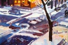 Wolcott in Winter